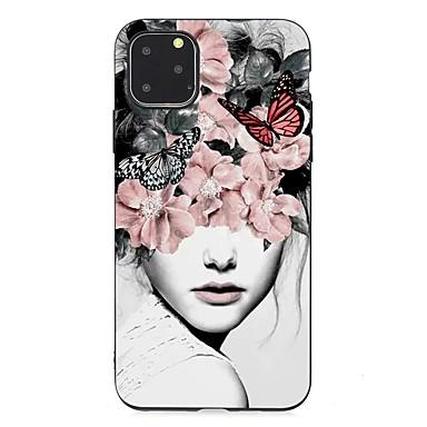 povoljno iPhone maske-Θήκη Za Apple iPhone 11 / iPhone 11 Pro / iPhone 11 Pro Max Ultra tanko / Mutno / Uzorak Stražnja maska Seksi dama TPU