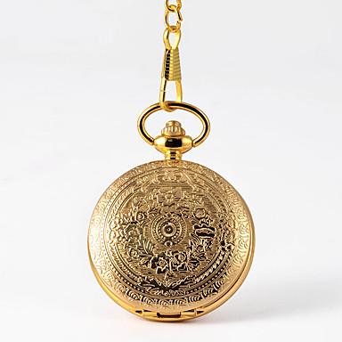 cheap Pocket Watches-Men's Pocket Watch Quartz Vintage Style Gold Creative Casual Watch Analog - Digital Vintage - Gold