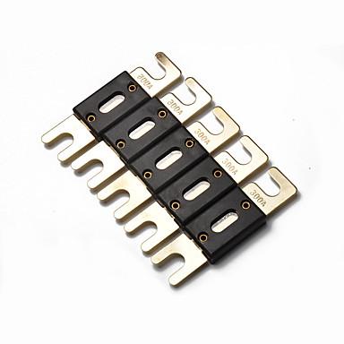 levne Auto Elektronika-5ks 300 amp standardní pojistka anl velká velikost automobilové zvukové pojistky