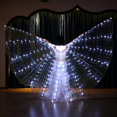 povoljno Odjeća i obuća za ples-Oprema za ples Izidina krila Žene Seksi blagdanski kostimi Terilen LED