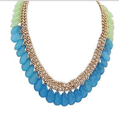 povoljno Modne ogrlice-Žene Smola Ogrlica Geometrijski Latica Boho plastika Duga 45+5 cm Ogrlice Jewelry 1pc Za Dnevno
