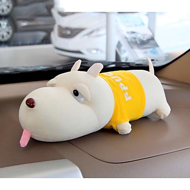 billige Interiørtilbehør til bilen-bambus kullpakke ornamenter til bil ny bil formaldehyd dukke søt hund tegneserie aktivert karbon lukt fjerning