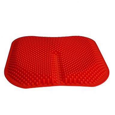 levne Doplňky do interiéru-autosedačka pokrývá masážní polštáře silikonový prodyšný polštářek ze síťoviny s vysokou pamětí
