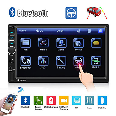 cheap Car DVD Players-SWM 7018B 7 inch 2 DIN Other OS Car MP5 Player / Car MP4 Player / Car Multimedia Player Touch Screen / MP3 / Built-in Bluetooth for universal RCA / TV Out / Bluetooth Support MPEG / AVI / MPG MP3