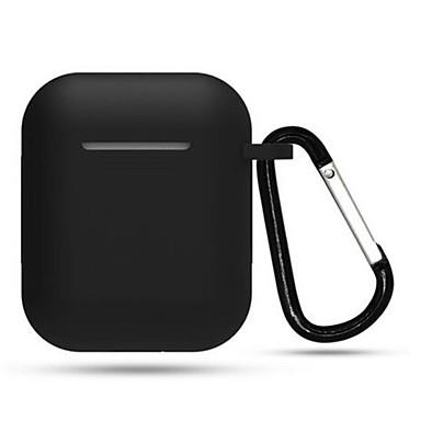 رخيصةأون حالات AirPods-جديد tpu سيليكون حالة سماعة بلوتوث لاسلكية ل airpods واقية غطاء الجلد الملحقات ل airpods التفاح مربع الشحن