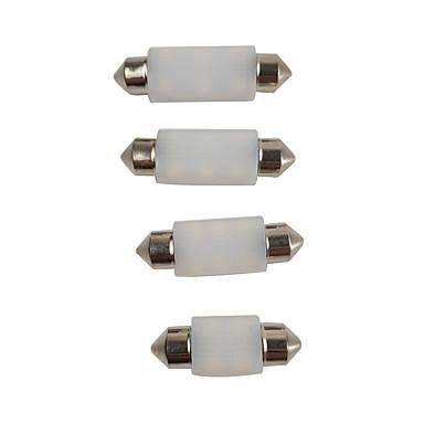 preiswerte Auto Dekor-Lampen-elegante milchig weiße farbe 6 watt c5 watt 31mm 36mm 39mm 41mm led lampen
