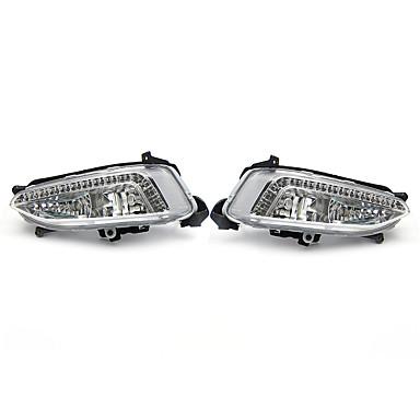 preiswerte Taglichter-2 stücke led tagfahrlicht nebelscheinwerfer lampen drl 6500 karat für hyundai ix45 santa fe 2013-2015