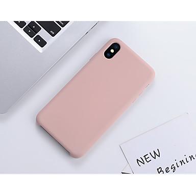 povoljno iPhone maske-Θήκη Za Apple iPhone 11 / iPhone 11 Pro / iPhone 11 Pro Max Otporno na trešnju / Ultra tanko Stražnja maska Jednobojni / Țiglă silika gel / Silikon