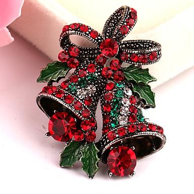 povoljno Religijski nakit-Muškarci Žene Broševi Zvono Broš Jewelry Zlato Za Božić diplomiranje