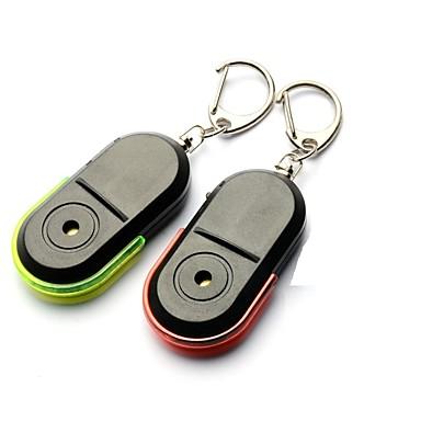 preiswerte Schlüsselanhänger-LED - Beleuchtung Schlüsselanhänger Plastikschale Kinder Erwachsene Unisex Spielzeuge Geschenk 2 pcs