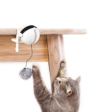 preiswerte Bekleidung & Accessoires für Katzen-Teaser Katzen Haustiere Spielzeuge 12 Stück haustierfreundlich Plüsch ABS + PC Geschenk