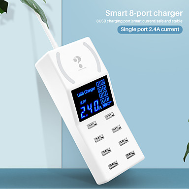 preiswerte Smart Plug-nillkin intelligenter stecker yc-cda31w für wohnzimmer / arbeitszimmer / schlafzimmer intelligent / kreativ / kabelloses aufladen kabelgebundener usb 100-240 v
