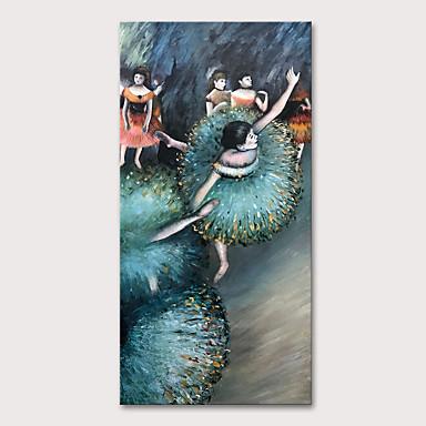 povoljno Ulja na platnu-Hang oslikana uljanim bojama Ručno oslikana - Ljudi Apstraktni portreti Klasik Tradicionalno Bez unutrašnje Frame