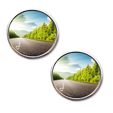 billige Rear View Monitor-baksiden av push-bilen lite rundt speil stort syn bakover hjelper blinde flekker biltilbehør reverseringsutstyr