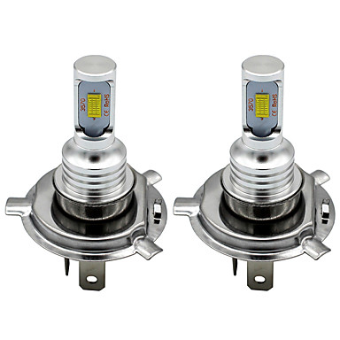 cheap Motorcycle Lighting-2pcs H7 H8 H11 9005 9006 HB4 H1 H3 3570 Chip Canbus External Led Bulb Car Led Fog Driving Lights Lamp Light Source 12-24V