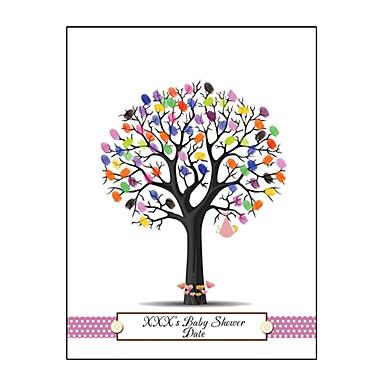 levne Party doplňky-Večírek / Dárky pro novorozeně Příslušenství Party Značky do zahrady Vzor Plátno Zahradní motiv / Klasický motiv / Novorozeně
