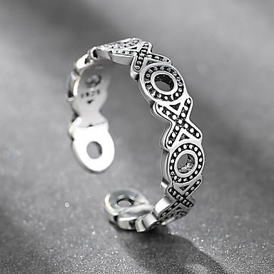 voordelige Herensieraden-Heren Dames manchet Ring 1pc Zwart Legering Folk Style Steampunk Lahja Dagelijks Sieraden