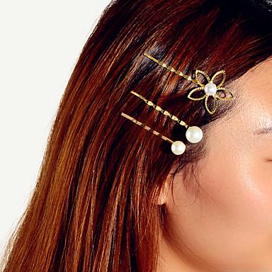 levne Dámské šperky-Dámské Základní Moderní Módní Perla Šperky do vlasů Nový Rok Narozeniny