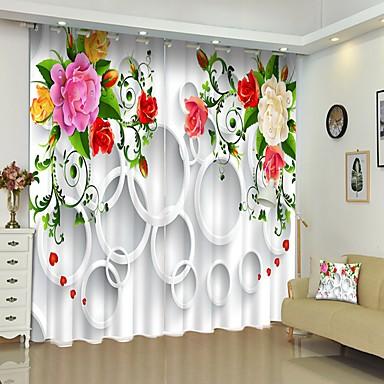 egyszerű szél színű virág digitális nyomtatás 3d függöny árnyékoló függöny nagy pontosságú fekete selyemszövet kiváló minőségű függöny