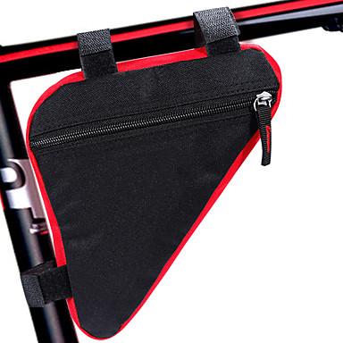 billige Sykkelvesker-Vesker til sykkelramme 4.7 tommers Sykling til Lignende størrelsestelefoner Svart Blå / Svart Svart / Rød Fritidssykling Sykkel med fast gir