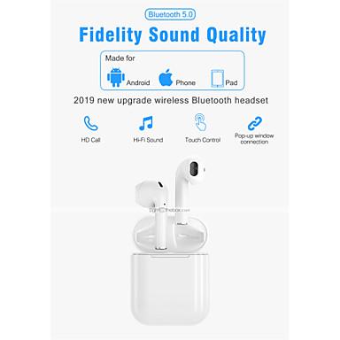 LITBest i300 TWS True Wireless Headphone Vezeték nélküli EARBUD Bluetooth 5.0 Sztereó Mikrofonnal A hangerőszabályzóval