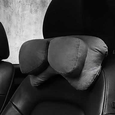 billige Interiørtilbehør til bilen-bilhode pute nakkepute tvilling hode pute bilsete personlighet nakkepute