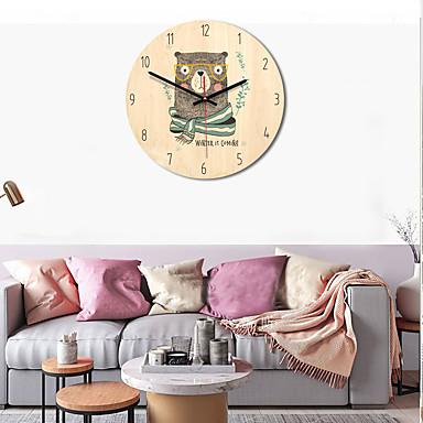 m.sparkling falióra fa modern dizájn rajzfilm állat nézni fal néma divat 11 hüvelykes konyha egyedi aranyos