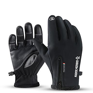 povoljno Motori i quadovi-vanjske vodootporne rukavice zimski dodirni zaslon otporne na vjetar vruće biciklističke antilop planinarske ski rukavice.