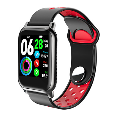 levne Pánské-Dámské Digitální hodinky Na běžné nošení Módní Černá Červená Zelená Silikon Digitální Černá Světlá růžová Rubínově červená Voděodolné Bluetooth Smart 30 m 1 sada Digitální