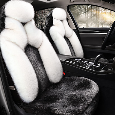levne Doplňky do interiéru-shangxiang dolů polštář auta zimní nový plyšový rostlina-dole teplé sedadlo sedadlo sada sedadel udržet v teple / kompatibilita airbagů / nastavitelné a odnímatelné / rodinné auto / suv
