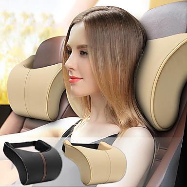 billige Hodestøtter til bilen-bil nakkestøtter lær minne skum bil pute hodepute