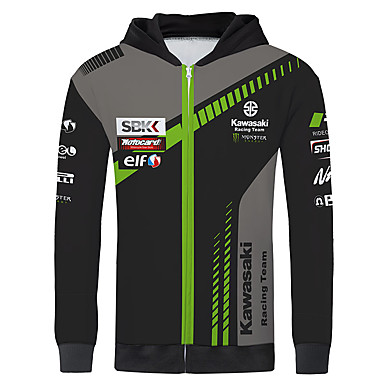 povoljno Motori i quadovi-kawasaki trkački dres motociklistički dres jakna odjeća jakna za unisex polyster proljeće / jesen / zima toplije / prozračno / brzo suho