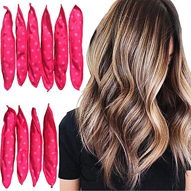 levne Péče o vlasy-10 ks / lot natáčky na vlasy měkký spánek polštář na vlasy nastavit nejlepší flexibilní pěny a houba magie vlasy péče diy vlasy styling nástroje