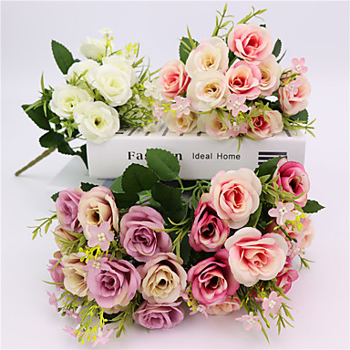 művirágok 1 ág klasszikus esküvői rusztikus szirmok növények asztali virág