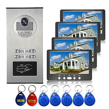 povoljno Zaštita i sigurnost-ožičeni 7 inčni hands-free 800 * 480 piksela jedan na jedan video domofon