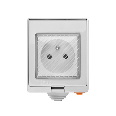cheap Smart Plug-SONOFF S55 TPE-FR Wi-Fi Waterproof Smart Socket-French PLug