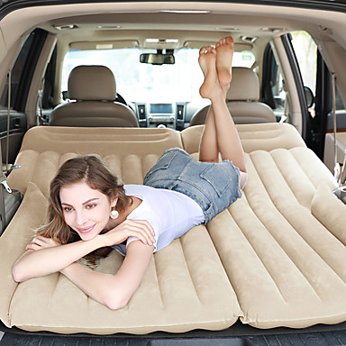 billige Interiørtilbehør til bilen-bil oppblåsbar seng bil suv bakmadrass luftpute seng reise seng bil leverer oppblåsbar seng