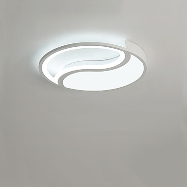 kružna polu-šuplja stropna svjetiljka tai chi stropna svjetiljka stropna svjetlost restorana