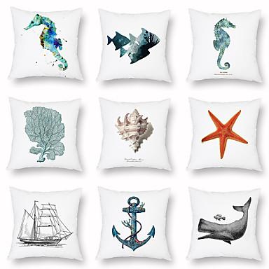 billige Putevar-marine stil putevar sommer lys sovesofa digital utskrift hjem dekorasjon putevar