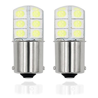 povoljno Stop-svjetla-2pcs / lot 1156 p21w led ba15s led 5050 12smd auto led žarulje žarulje za pokazivač svjetla kočnice svjetlo bez pogreške 12v