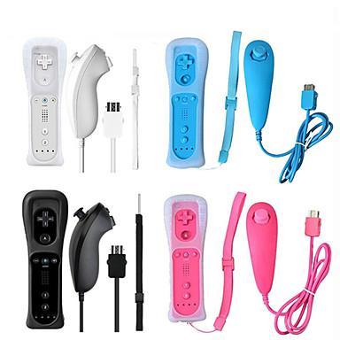 beépített mozgás és vezeték nélküli távoli játékvezérlő a Nintendhez Wii Nunchuck a Nintendhez Wii Távirányító Joystick Joystick