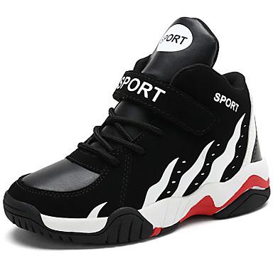 Fiú Kényelmes Szintetikus Sportcipők Kis gyerekek (4-7 év) / Nagy gyerekek (7 év +) Kosárlabda Fekete / Piros / Kék Tavasz / Ősz