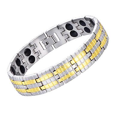 voordelige Herensieraden-Heren Oorbellen / armband Vintagestijl Lucky Luxe Klassiek Vintage modieus Modieus Koper Armband sieraden Zilver Voor Lahja Dagelijks Feestdagen Festival