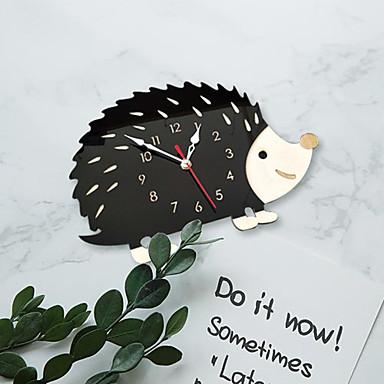 m.sparkling népszerű háztartási divat kreatív sündisznó óra forró eladó állati óra nappali szoba hálószoba dekorációs óra