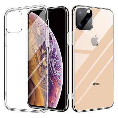 povoljno iPhone maske-kristalno prozirno stakleno kućište za iphone 11 / iphone 11 pro tpu dvostruko providno staklo zaštitni poklopac za iphone x / xr / xs max