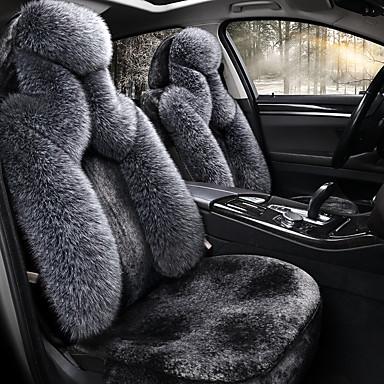 billige Interiørtilbehør til bilen-shangxiang dunbilpute vinter ny plysj plant-down varmt sete setesett holder varm / kollisjonspute kompatibilitet / justerbar og avtakbar / familiebil / suv