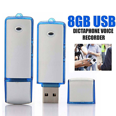 preiswerte Digitale Diktiergeräte-u-disk digital mini audio sound recorder 16 gb professionelle sprachaktivierte aufnahme diktiergerät usb recorder aufnahmestift 2 farben