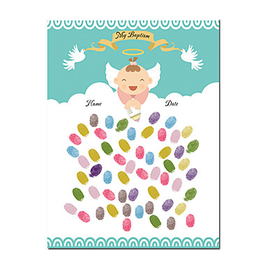 voordelige Feestbenodigdheden-Evenement / Feest / Babyshower Feestaccessoires Op gespannen doek Met patroon Kangas Tuin Thema / Klassiek Thema / Nieuwe baby