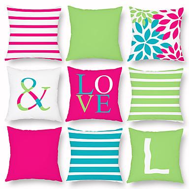 billige Putevar-stripete ensfarget putevar digital utskrift klemme putevar hjemme lur pute sofa pute putevar