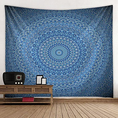 cheap Bohemian Tapestries-Mandala Bohemian Wall Tapestry Art Decor Blanket Curtain Picnic Tablecloth Hanging Home Bedroom Living Room Dorm Decoration Boho Hippie Psychedelic Floral Flower Lotus